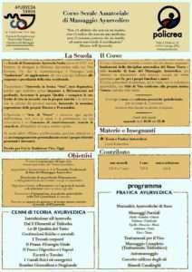 Corso Massaggio Ayurvedico @ Studio Policrea di Roberto Caiti | Cavriago | Emilia-Romagna | Italia