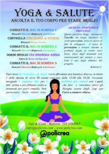 Yoga Salute Dormi Meglio @ Studio Policrea di Caiti Roberto | Cavriago | Emilia-Romagna | Italia