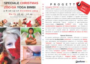 Speciale Christmas Zoo-Ga Yoga Bimbi @ Studio Policrea di Roberto Caiti | Cavriago | Emilia-Romagna | Italia